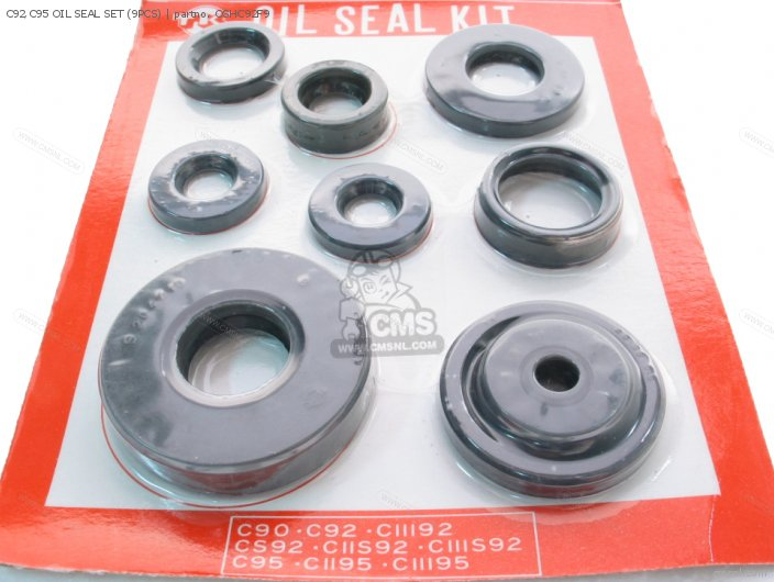 (90000-200-000) C92,c95 Oil Seal Set (9pcs) photo