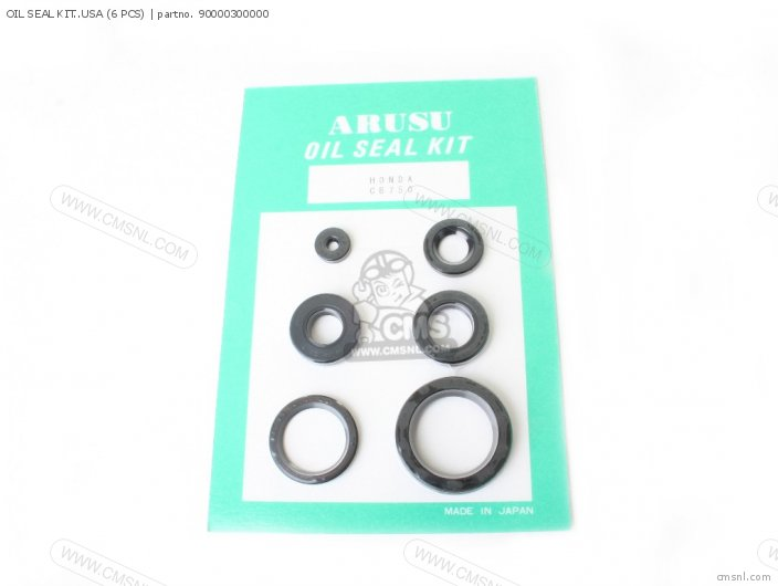 90000-300-010 OIL SEAL KIT  USA 6 PCS