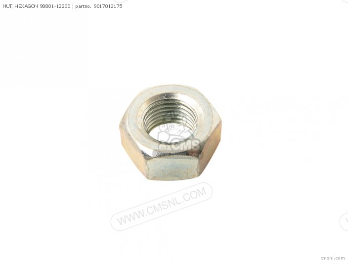 90170-12181 NUT  HEXAGON 98801-12200