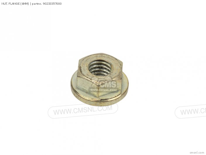 (90210601000) NUT, FLANGE (6MM)