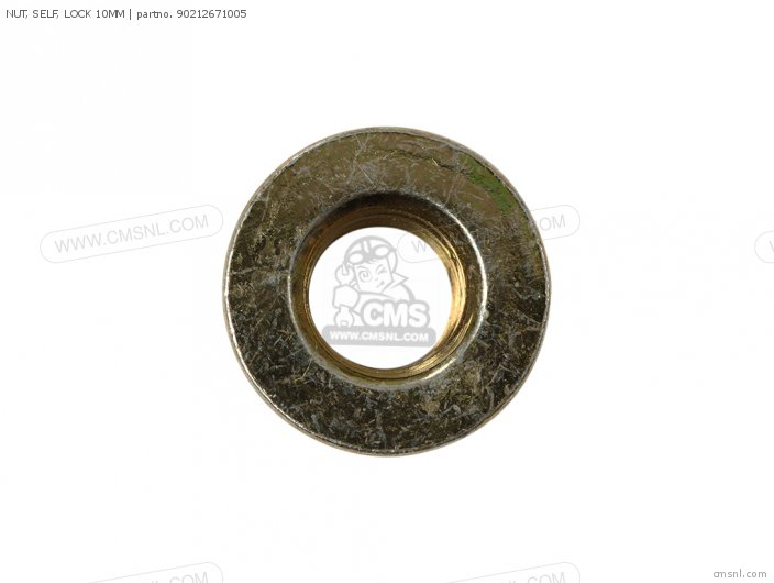 (90212SA5003) NUT, SELF, LOCK 10MM