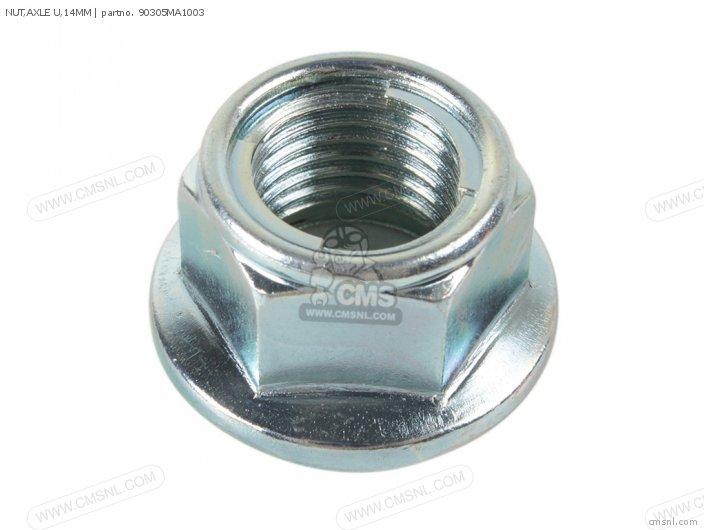 Crm75r 1989 k Spain 90305-ge8-003 Nut axle U 14mm