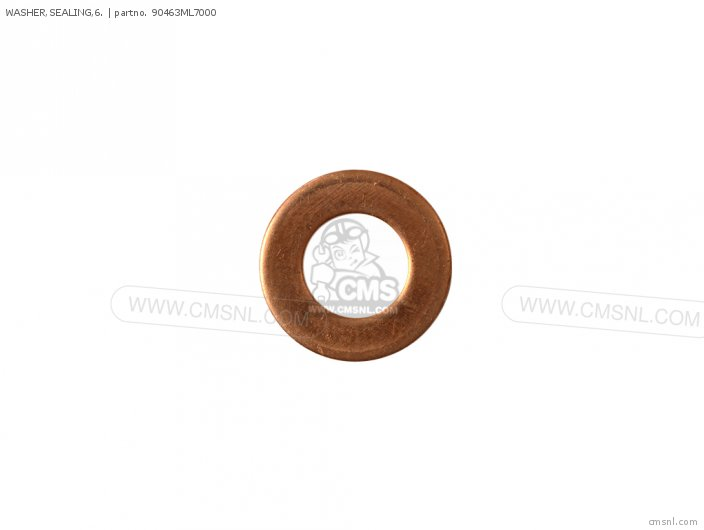 (90430PD6003) WASHER,SEALING,6.