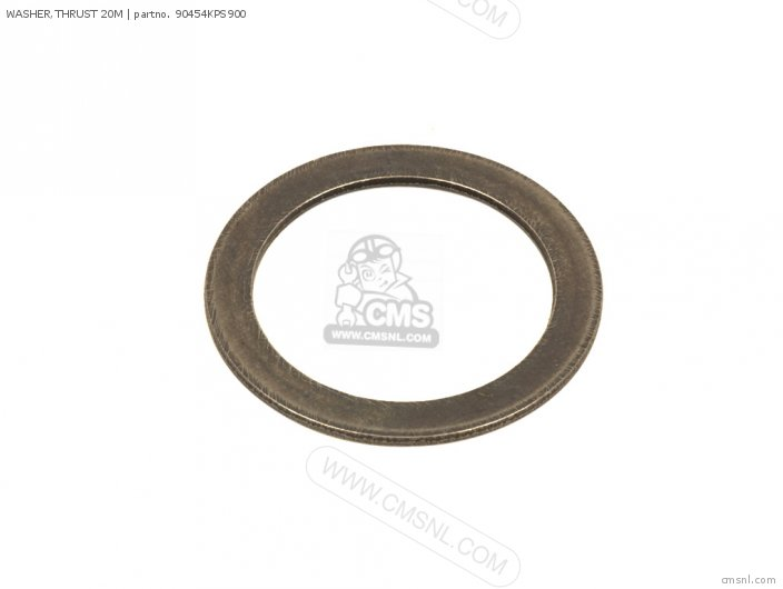 (90454107000) WASHER,THRUST 20M