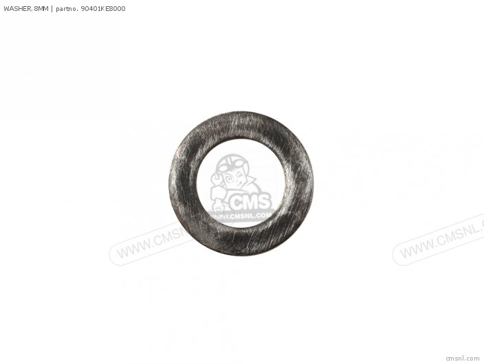 (90504VD6851) WASHER,8MM