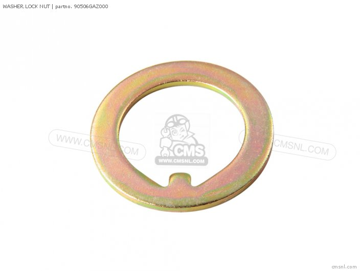 (90506KCW850) WASHER,LOCK NUT