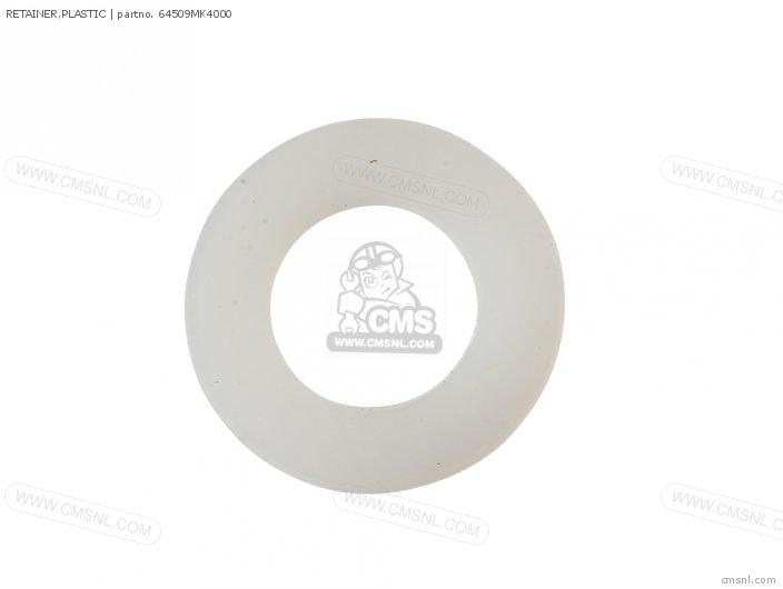 (90511-MCS-G50) RETAINER,PLASTIC