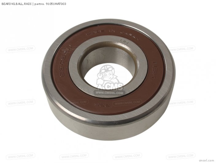 (91051MBT611) BEARING,BALL,RADI