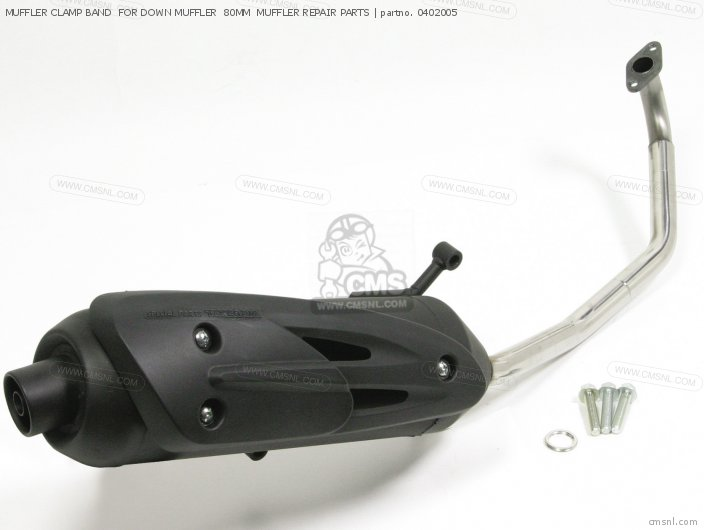 (91140-181-T01) MUFFLER CLAMP BAND  FOR DOWN MUFFLER  80MM  MUFF