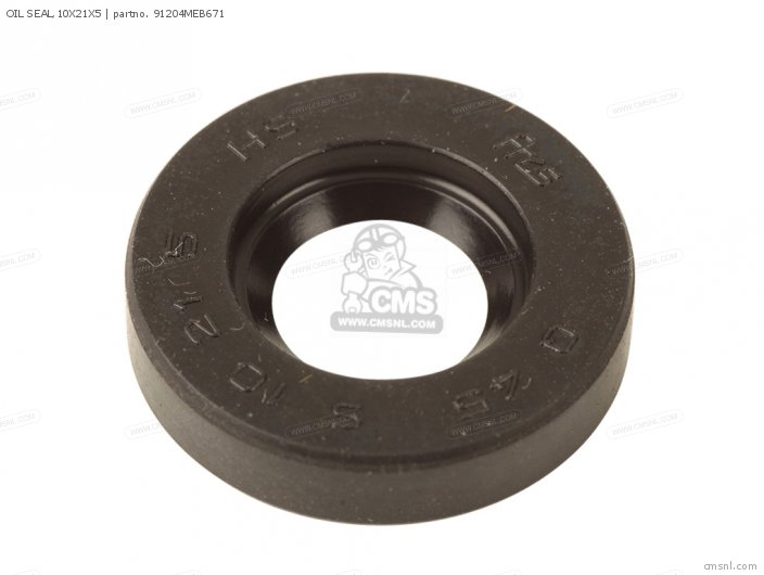 (91204KRN671) OIL SEAL,10X21X5
