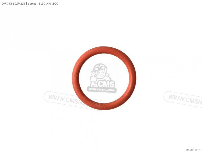 (91301-KPF-960) O-RING,10.5X1.5