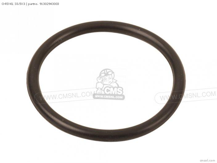 S90 Super 1964 Usa 91304hb3003 O-ring  33 5x3