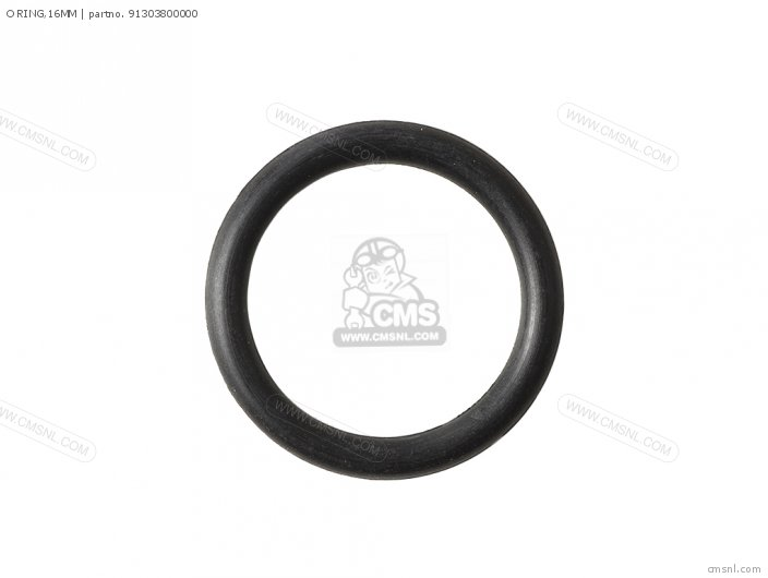 Crm75r 1989 k Spain 91304mj0003 O Ring 16mm