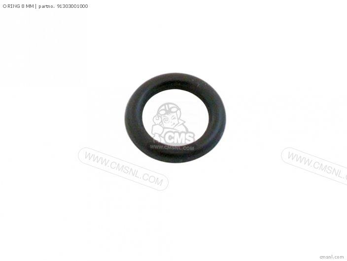 91306-HB3-003 O RING 8 MM