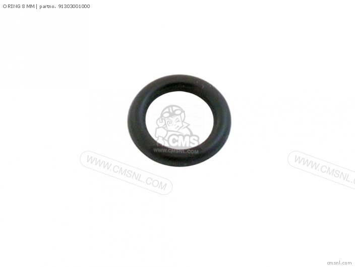 (91306-hb3-003) O Ring, 8 Dia photo