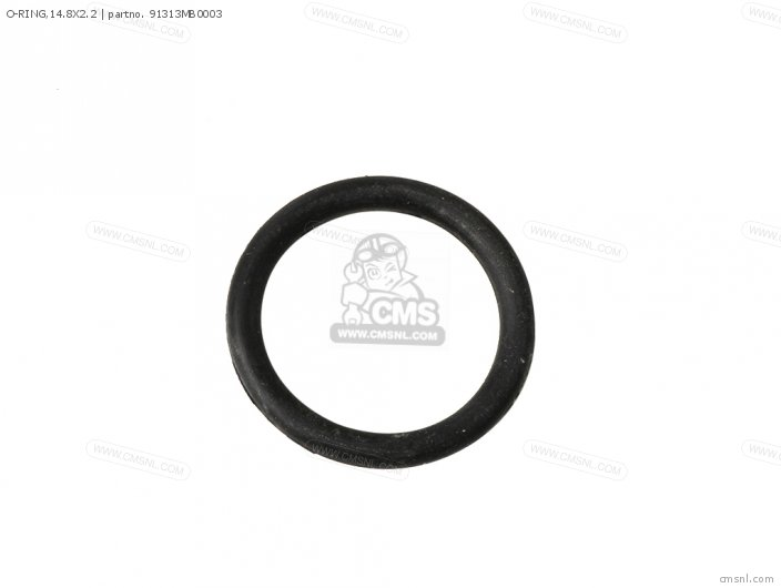 Cbr600f 1997 Portugal   50p 91313-mg7-004 O-ring 14 8x2 2