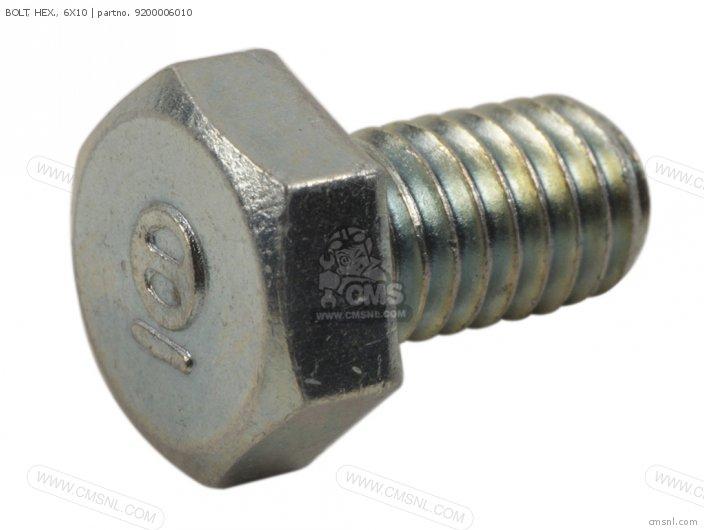 92101-060100A BOLT  HEX   6X10