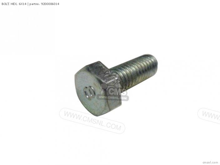 92101-060140A BOLT  HEX  6X14