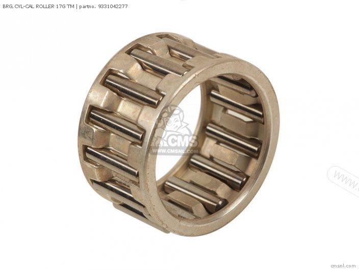 Dt125 1978 Usa 93310422l0 Brg cyl-cal Roller 17g Tm