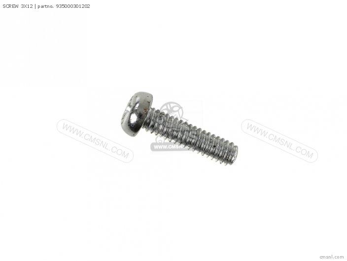 (93500-030120B) SCREW 3X12