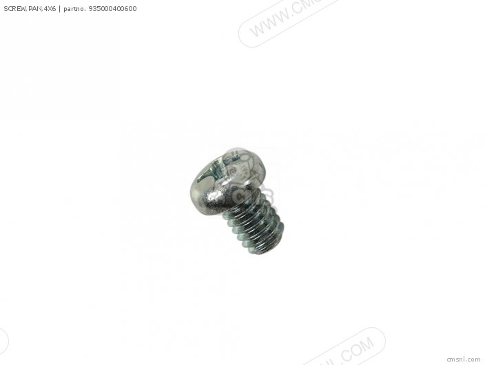 (93500-040060A) SCREW, PAN,4X6