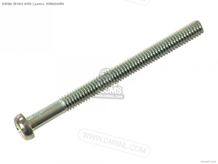 (93500-040500B) SCREW,CROSS 4X50