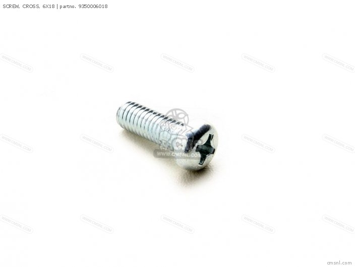 93500-060-180A SCREW CROSS 6X18