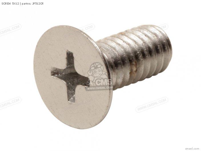 (93600-050120B) SCREW 5X12