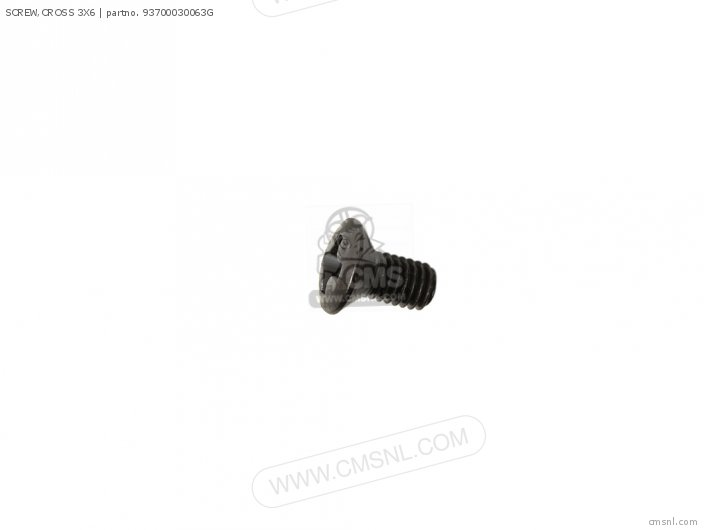 (93700-030060G) SCREW, CROSS 3X6