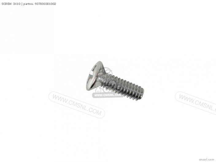 93700-030100A SCREW 3X10