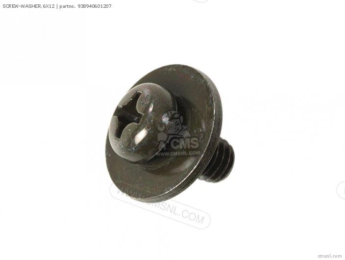(93894-0601208) SCREW-WASHER,6X12