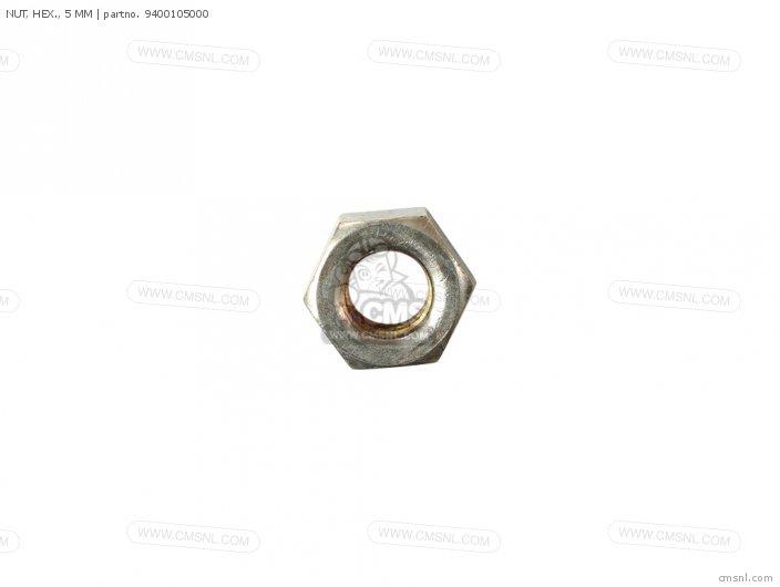 94001-050000S NUT  HEX   5 MM