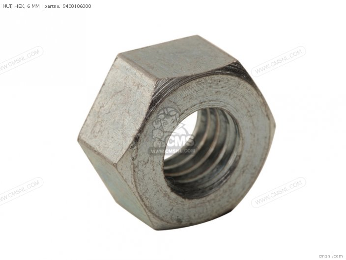 94001060000S NUT  HEX  6 MM