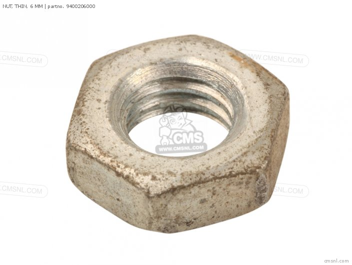 94002060000S NUT  THIN  6 MM