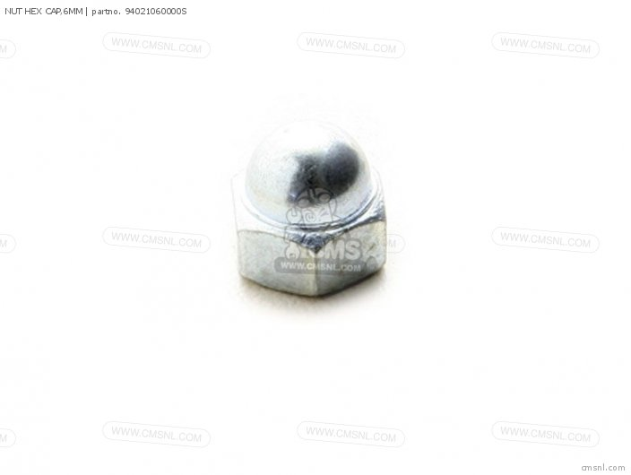 Crm75r 1989 k Spain 94021-06020 Nut Hex Cap 6mm