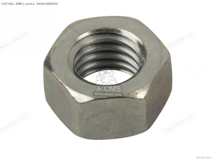 Crm75r 1989 k Spain 94030-08000 Nut hex  8mm