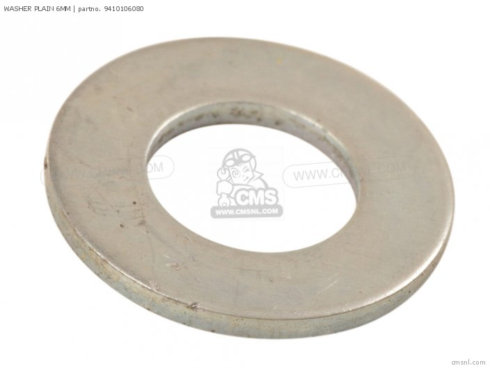 94101-06800 WASHER PLAIN 6MM