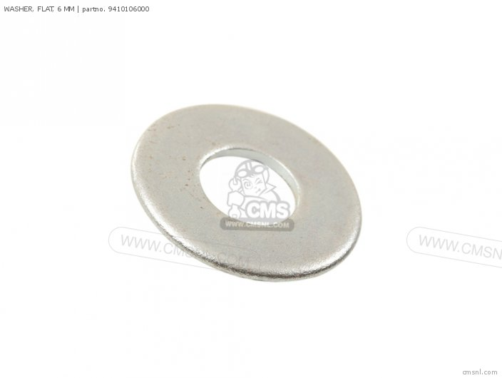 Crm75r 1989 k Spain 94101-06800 Washer  Flat  6 Mm