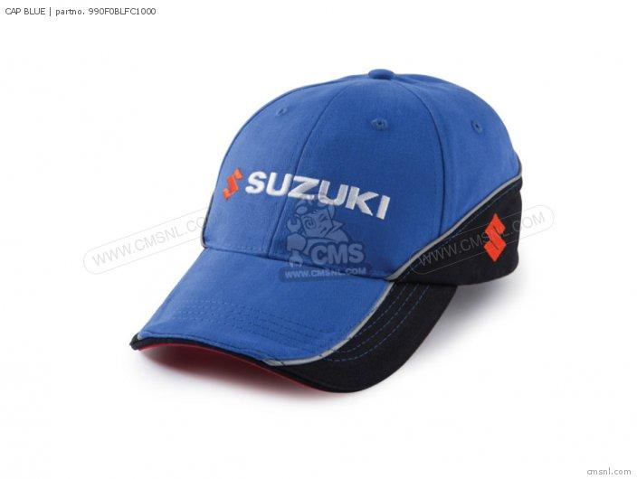 Merchandise Suzuki 990f0-blfc2-000 Cap Blue