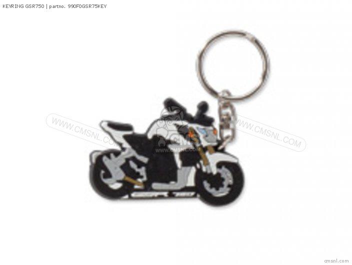 Merchandise Suzuki 990f0-gsr7b-key Keyring Gsr750