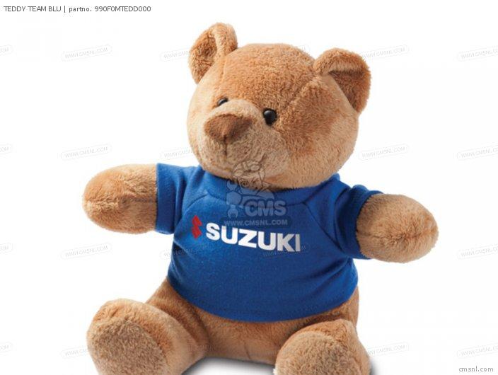 (990F0MTED1000) TEDDY TEAM BLU