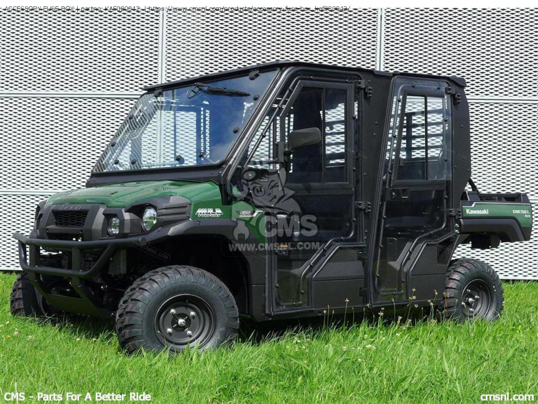 Kaf080042 Accessory Fuse Box Kawasaki Buy The At Cmsnl