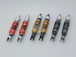 ADJUSTABLE SHOCK METAL/   RED  MAJESTY