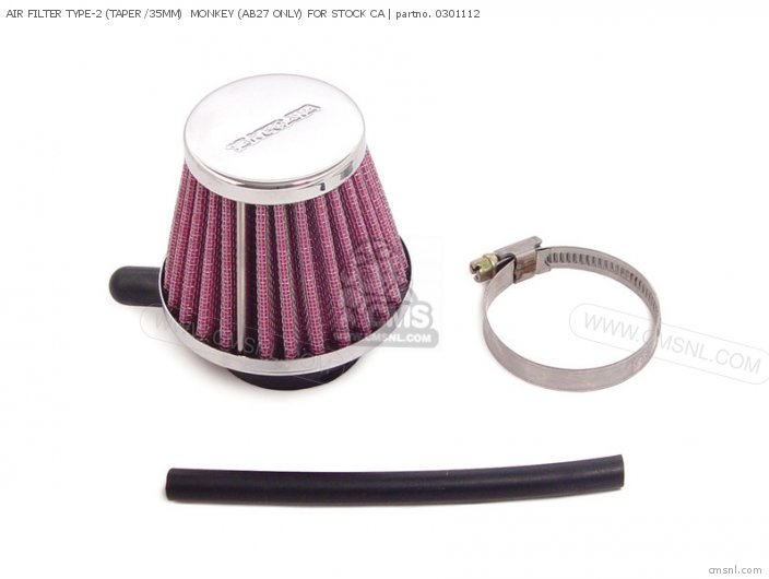 Air Filter Type-2 (taper /35mm)  Monkey (ab27 Only) For Stock Ca photo