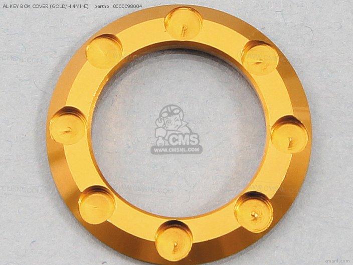Al Key Box Cover (gold/h 4mini) photo