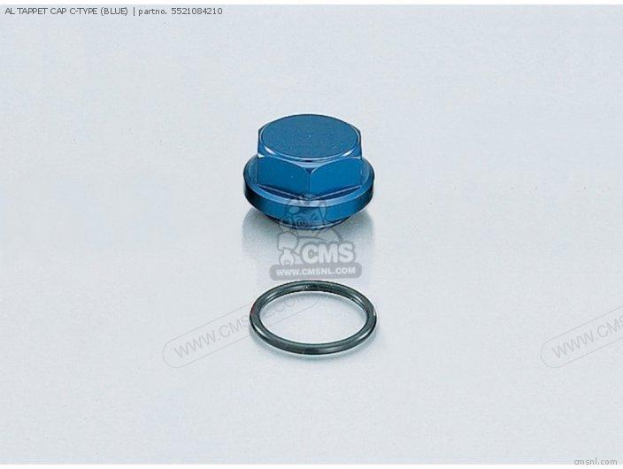 AL TAPPET CAP C-TYPE (BLUE)