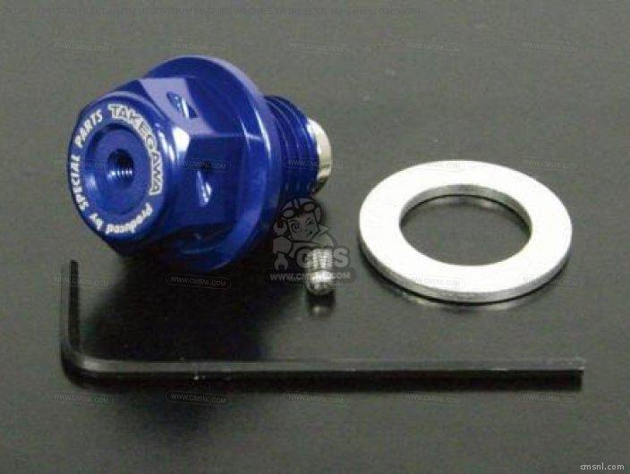ALUMINUM DRAIN BOLT (WITH NEODYMIUM MAGNET) M12X1.5 (WIRE LOCK H