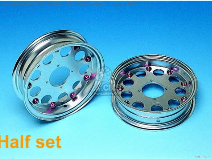 ALUMINUM WHEEL HALF FOR REAR DRUM BRAKE  MONKEY GORILLA  10 I