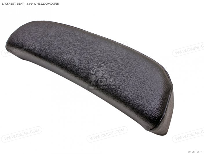 BACKREST REAR BLACK