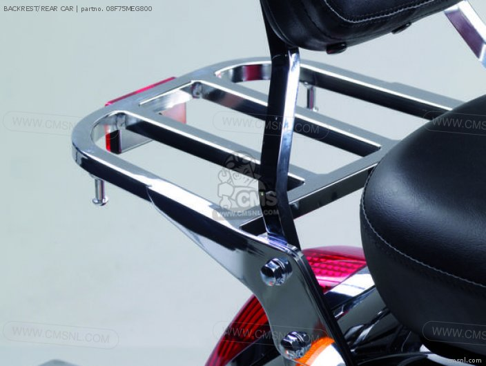 Vt750c Shadow Backrest rear Car